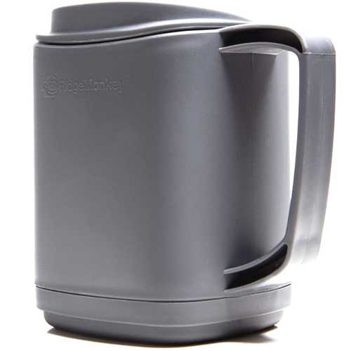 RidgeMonkey Thermo Mug Gunmetal Gray