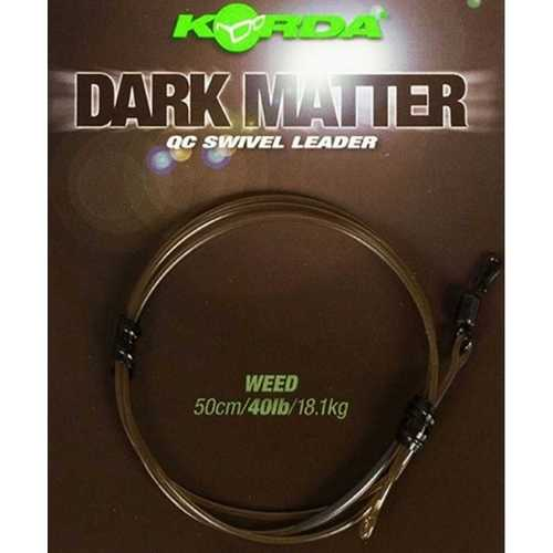 Korda - Dark Matter QC Swivel Leader 50 cm