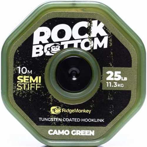 RidgeMonkey - Rock Bottom Semi Stiff Camo Green 25 lb