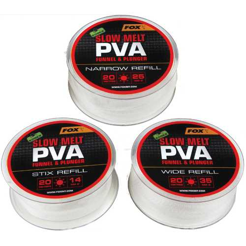 FOX Edges - PVA Mesh Slow Melt Refills 14, 25 und 35 mm - 20 m