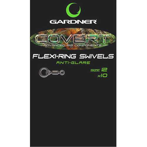 Gardner - Covert Flexi-Ring Swivels Anti Glare Gr. 8 und 12