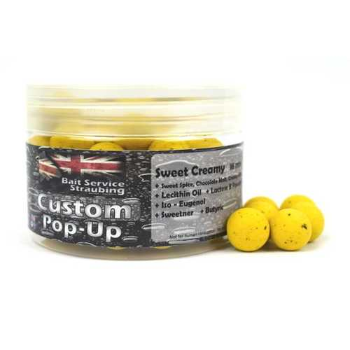 Bait Service Straubing - Custom Pop Ups Sweet Creamy 16  mm