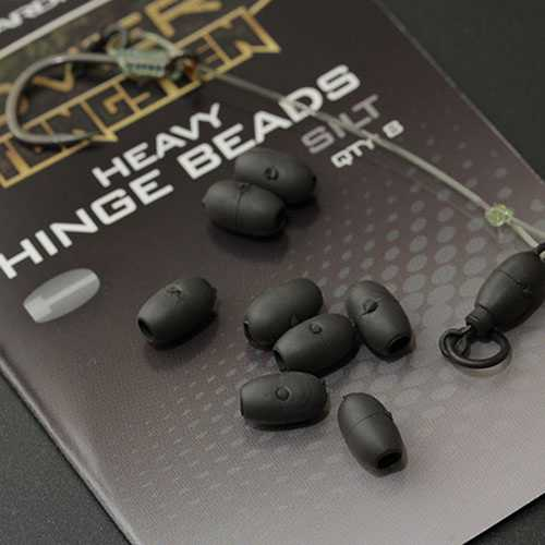 Gardner - Covert Tungsten Heavy Hinge Beads Silt