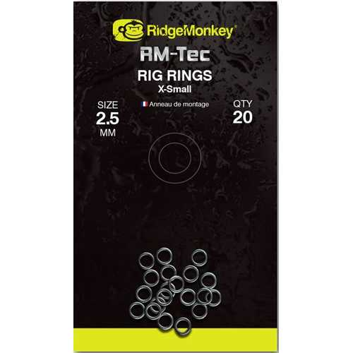 RidgeMonkey - Rig Rings 2,5 mm