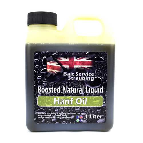 BSS - Natural Liquid Hanf Oil - 1-Liter-Kanister