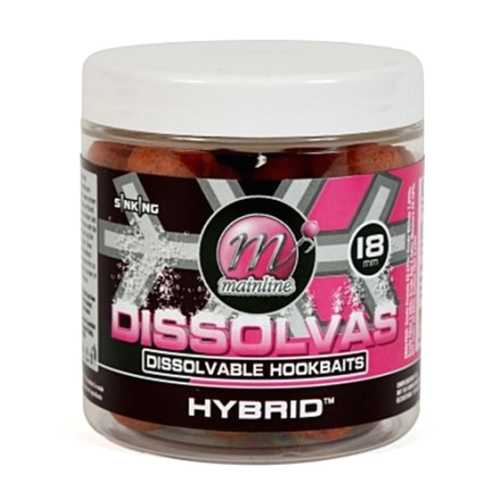 Mainline - Base Mix Dissolvas Hookbaits Hybrid - 18 mm
