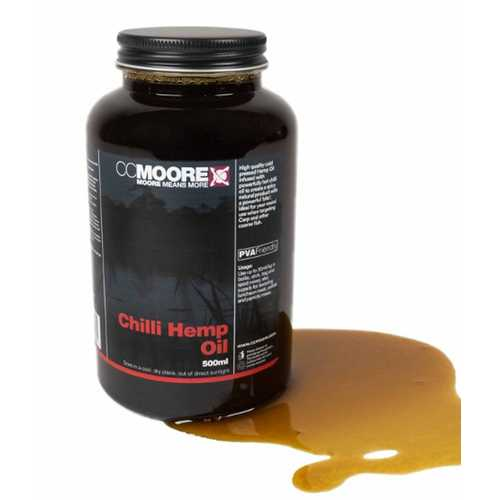 CC Moore - Chilli Hemp Oil - 500 ml