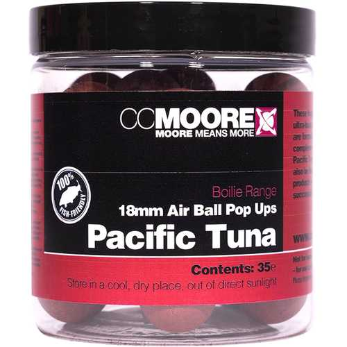 CC Moore - Air Ball Pop Ups Pacific Tuna - 18 mm
