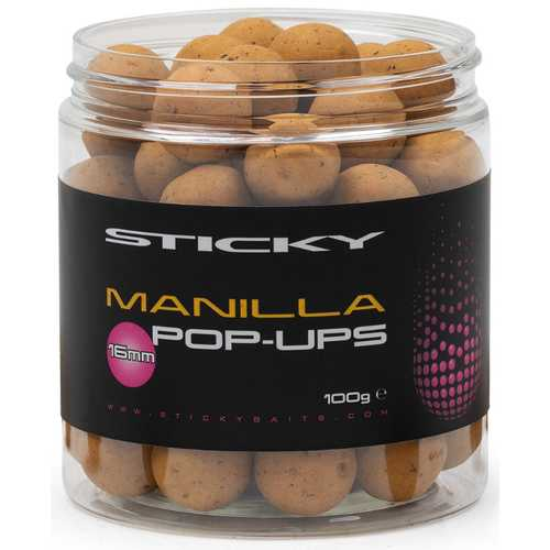 Sticky Baits - Pop Ups Range Manilla - 16 mm