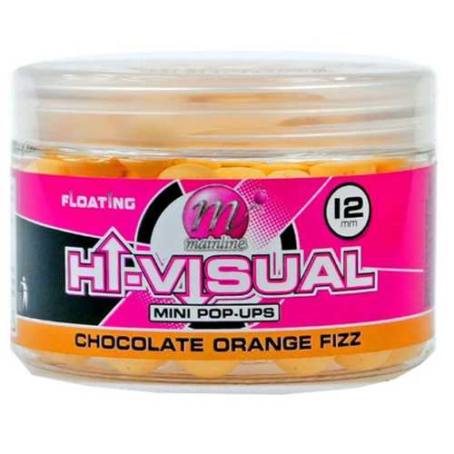 Mainline - Washed Out Hi Visual Mini Pop Ups Chocolate Orange Fizz - 12  mm