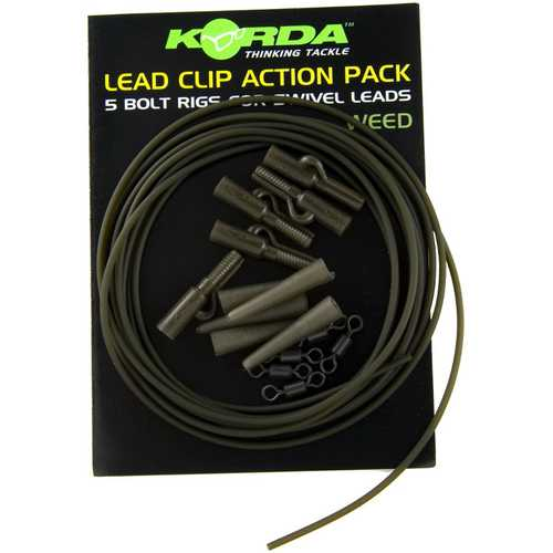 Korda - Lead Clip Action Pack / Safety Clip