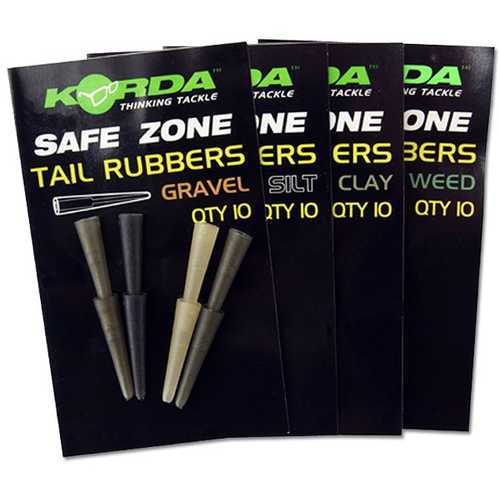 Korda Safe Zone Tail Rubbers 10 Stück