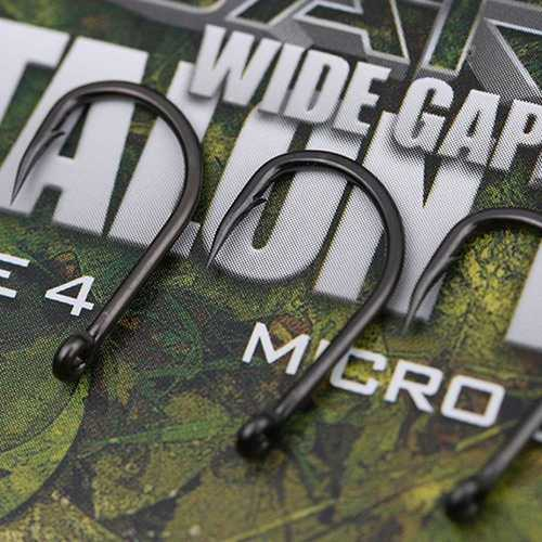 Gardner Covert Dark Wide Gape Talon Tip Hook Gr. 2, 4, 6...