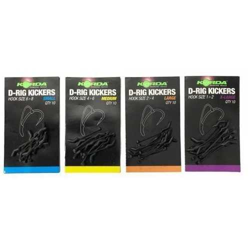 Korda - D-Rig Kickers Green - Small/Medium/Large/X-Large