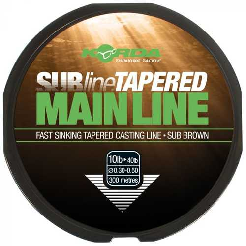 Korda SUBline Tapered Mainline (8lb tapering to 40lb)
