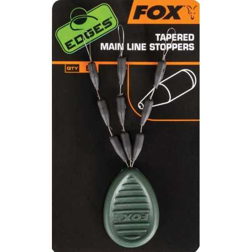 Fox Edges Tapered Main Line Stoppers