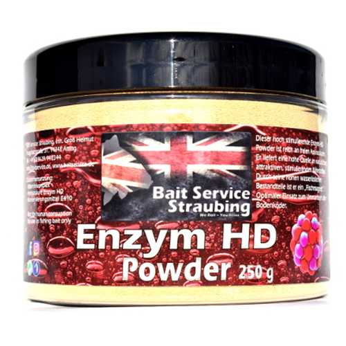Bait Service Straubing - Hookbait / Additive Powder Enzym HD - 250 g